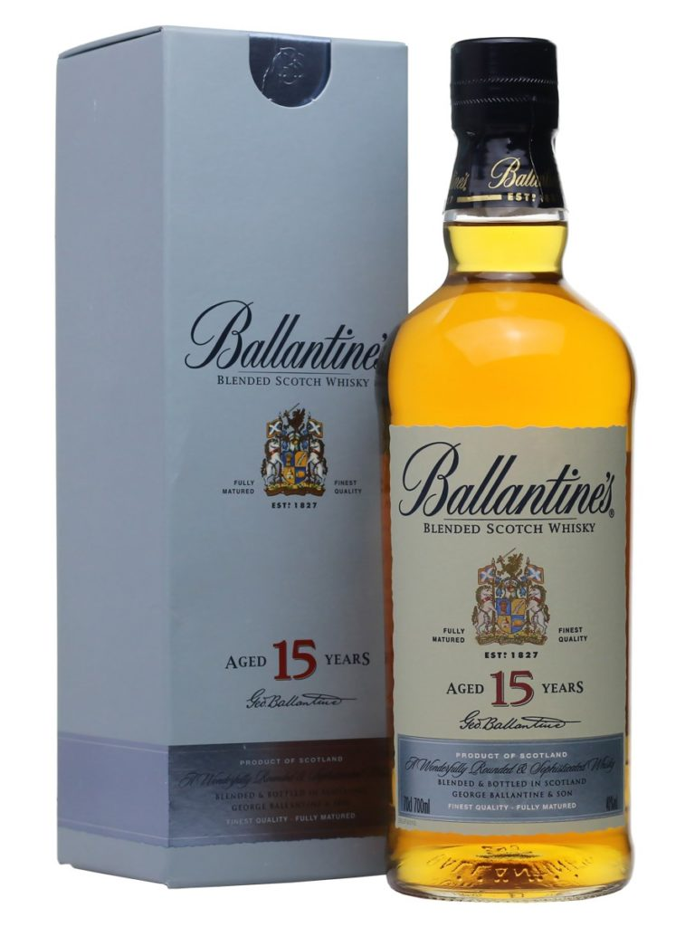 Ballantine 15 years old