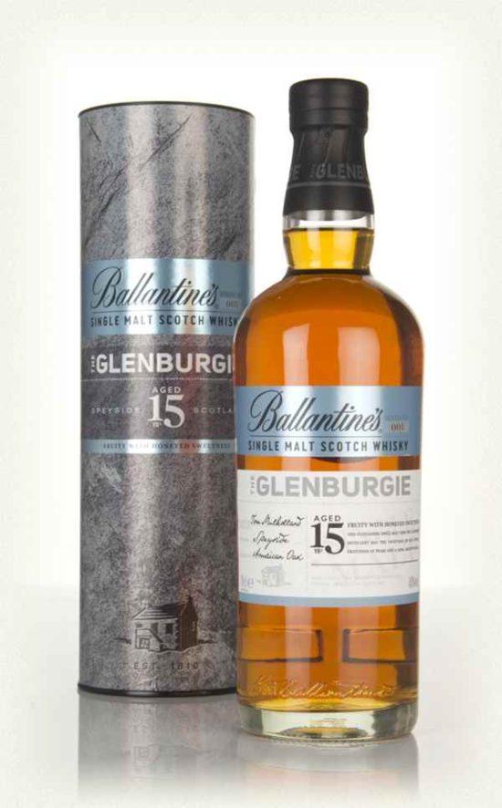 Ballantine the glenburgie 15 years old