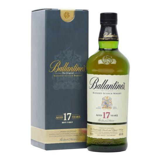 Ballantines the original blended Scotch whisky 17