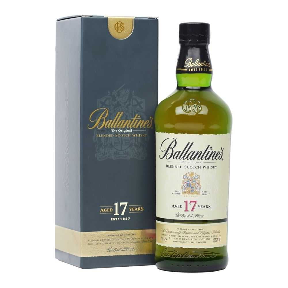 Ballantines the original blended Scotch whisky 17