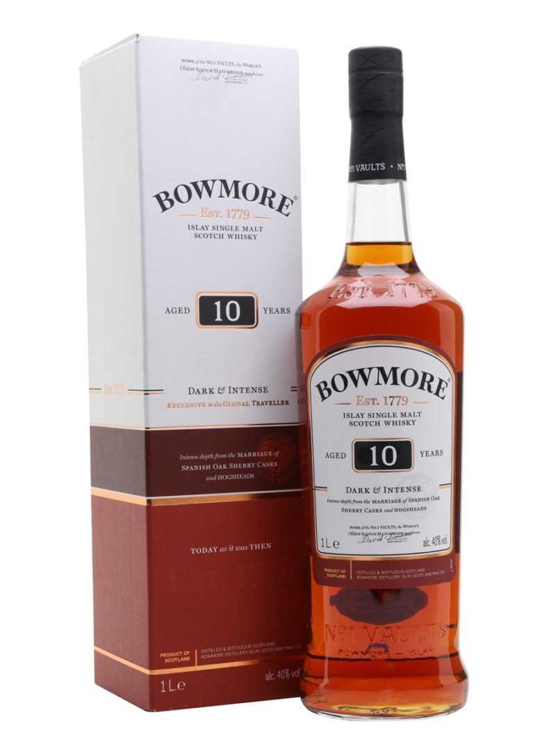 Bowmore 10 dark & intense