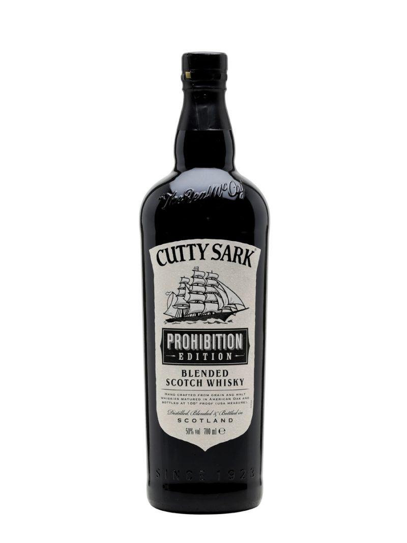 Cutty sark prohibition edition blended scotch whisky