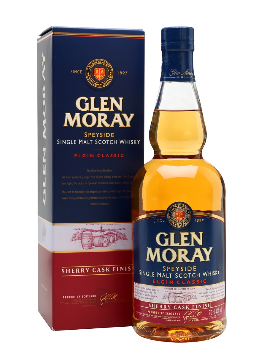 Glen moray Elgin classic sherry cask finish