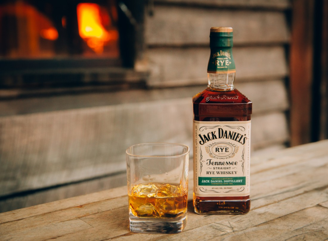 Jack Daniel's Straight Tennessee Rye