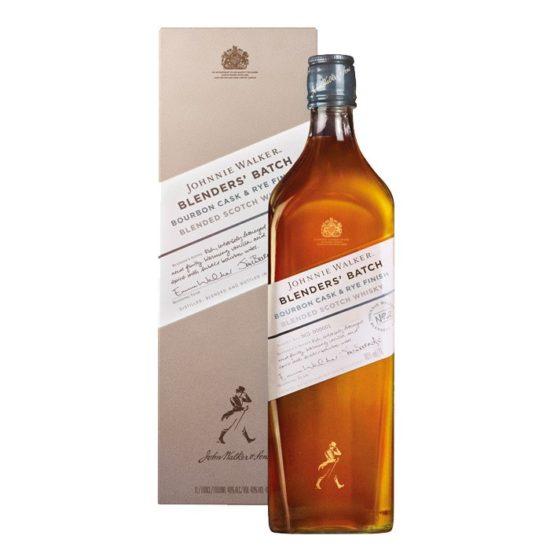 Johnnie Walker bourbon cask & rye finish