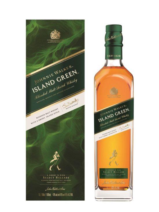 Johnnie Walker island green