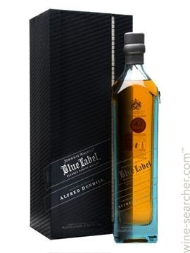 Johnnie walker blue label Alfred Dunhill