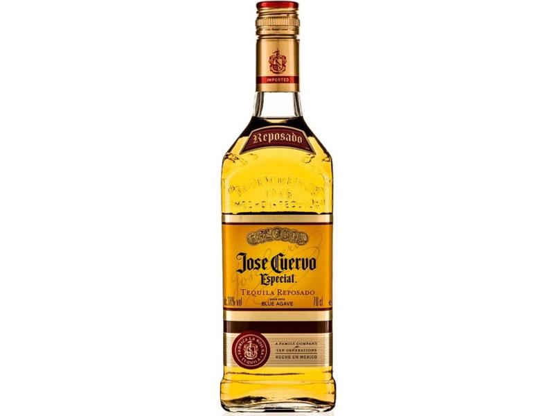 Jose Cuervo Especial gold blue agave