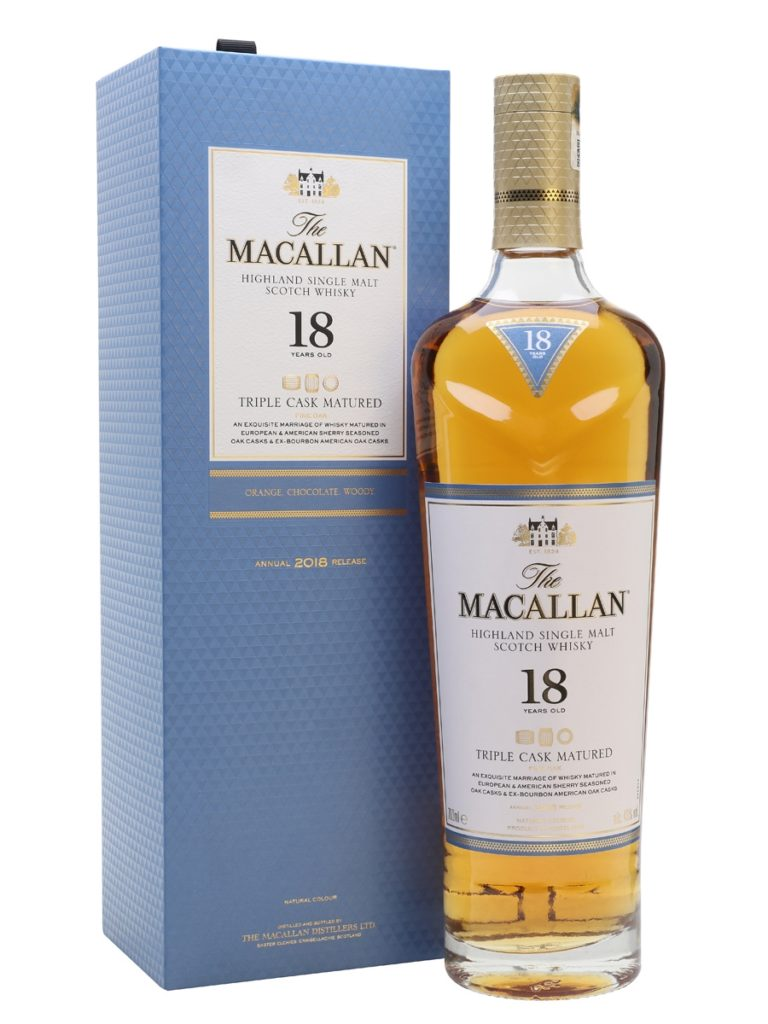 Macallan 18 Year Old Triple Cask Matured 2018