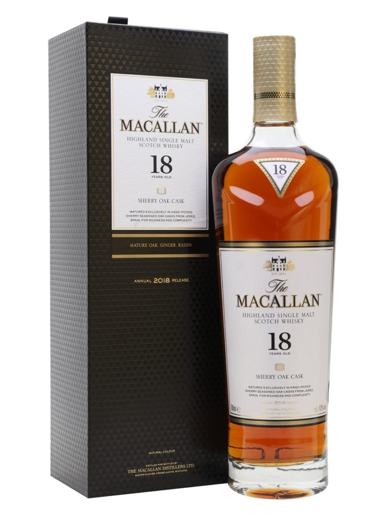 Macallan 18 sherry oak cask image