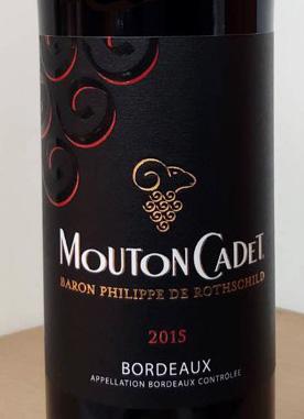 Mouton Cadet Bordeaux 2015