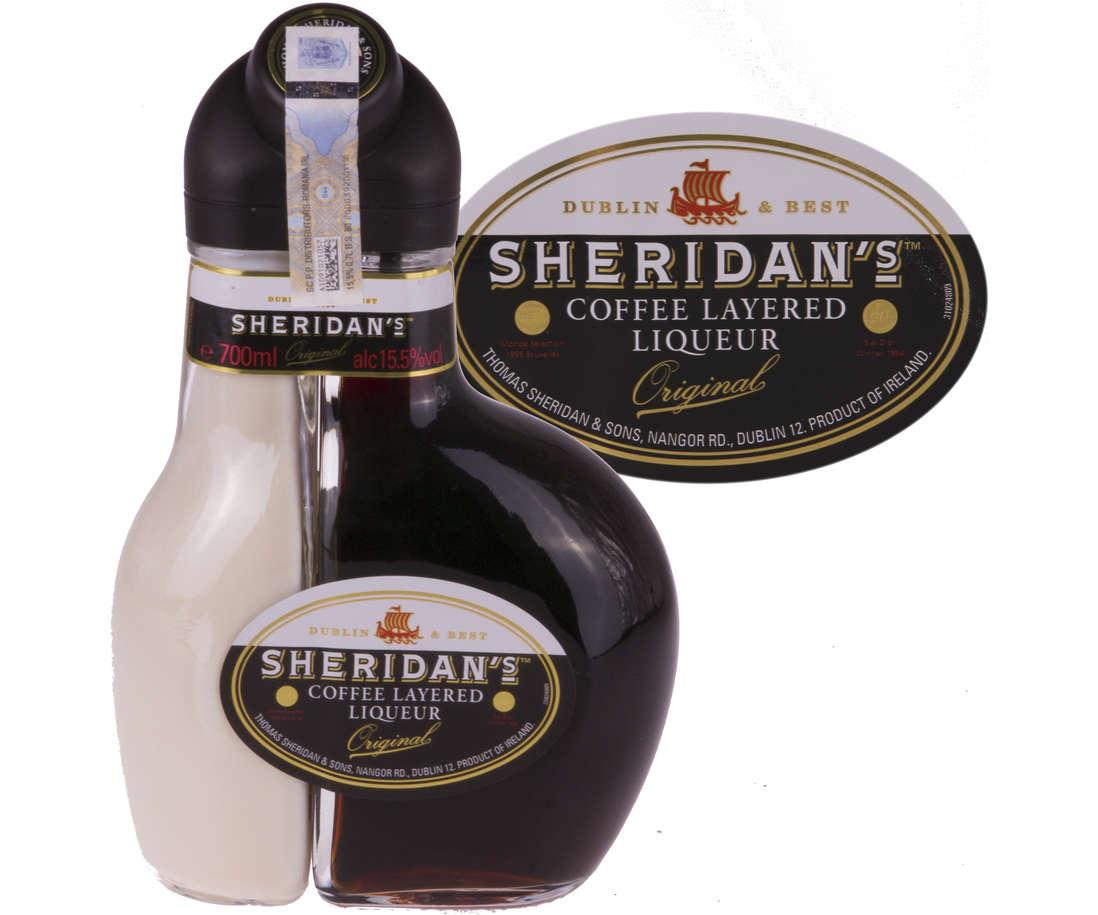 Sheridan's coffee layered liqueur