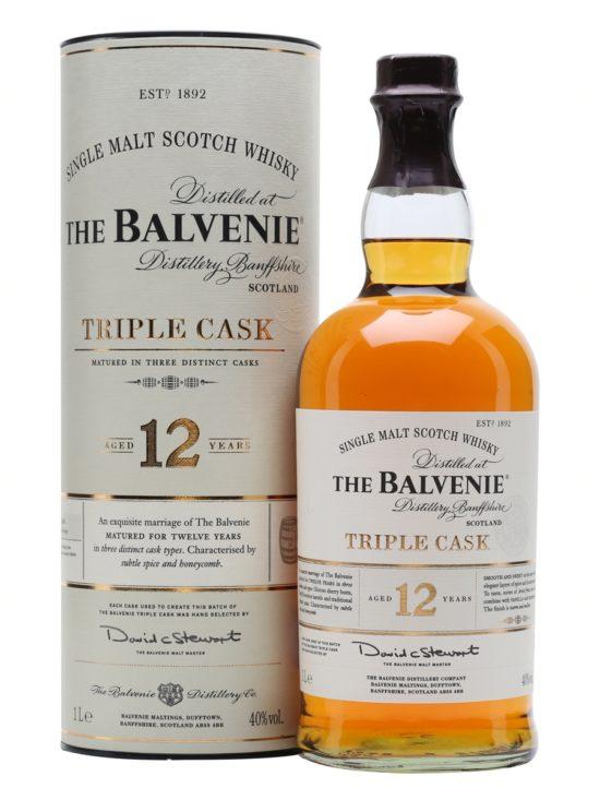 The Balvenie triple cask 12