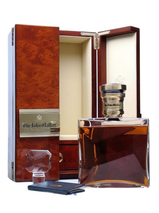 The John Walker blended Scotch whisky