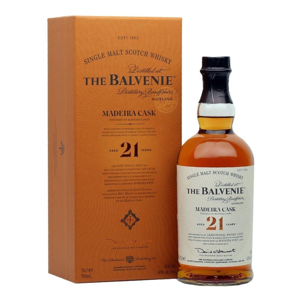 The balvenie Madeira cask 21 year
