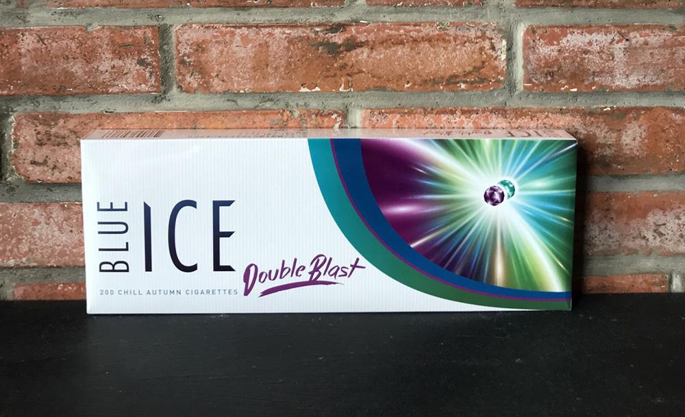 Blue Ice Double Blast Chill Autumn Slim