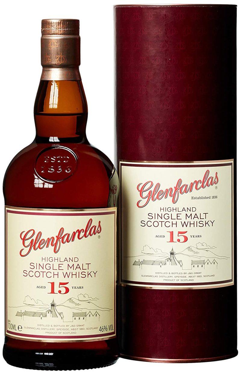 Glenfarclas Highland single malt Scotch whisky 15