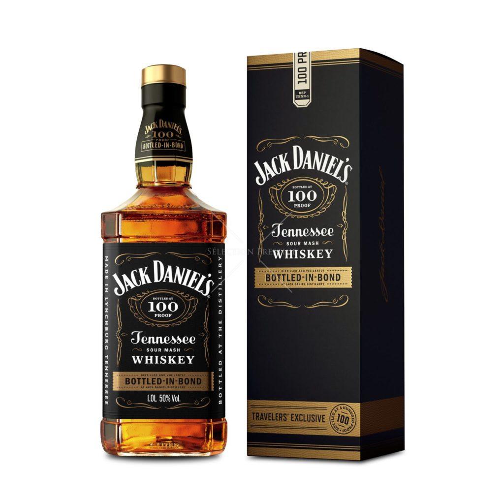 Jack Daniel's Tennessee sour mash whisky bottled-in-bond