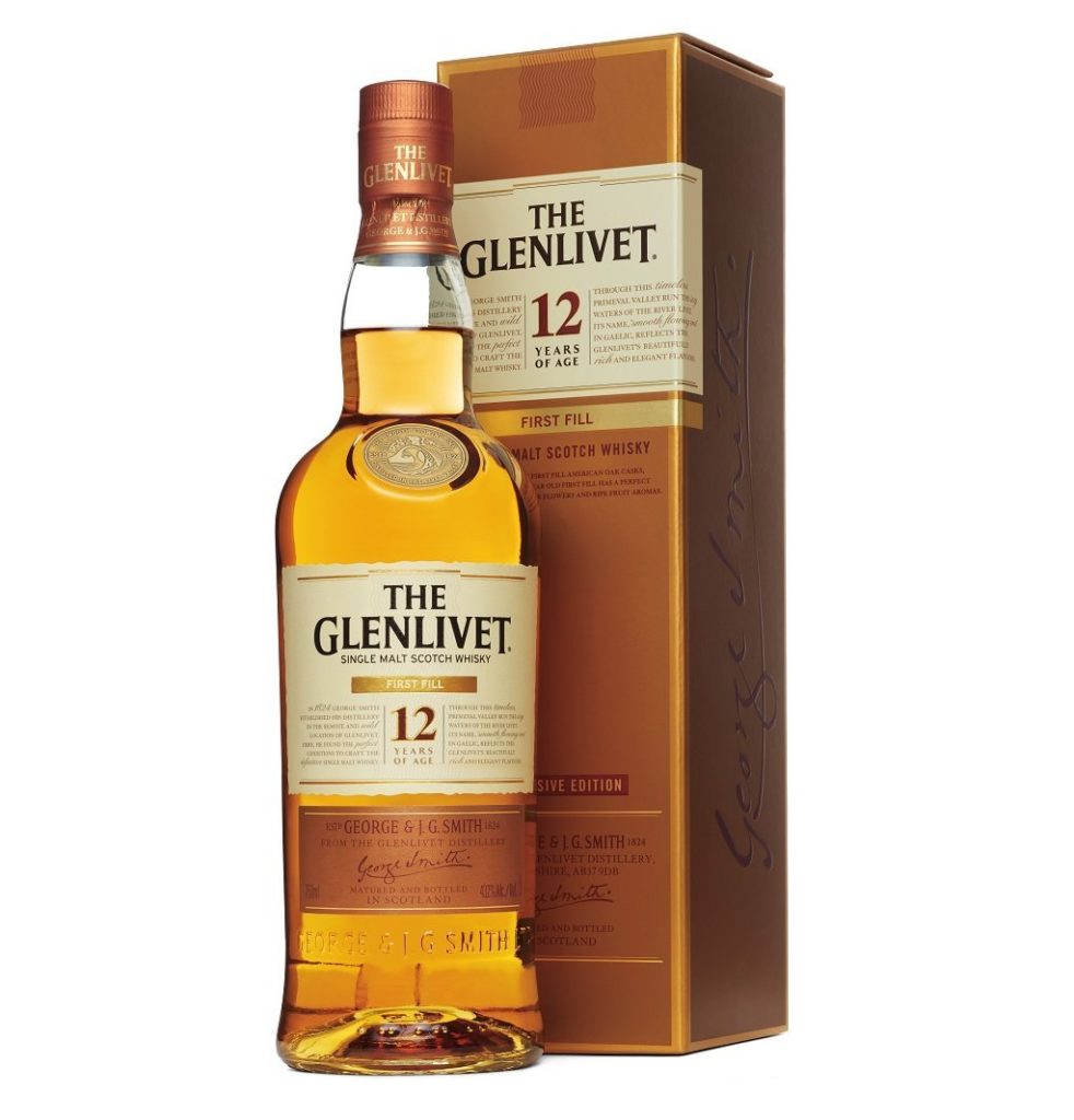 The Glenlivet First Fill 12