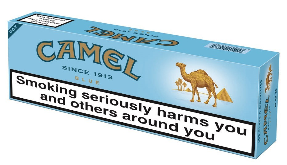 Camel Blue Light