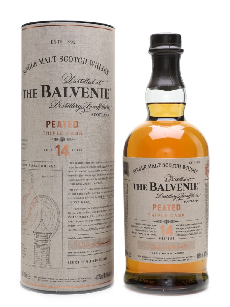 Balvenie 14 Peated Triple Cask