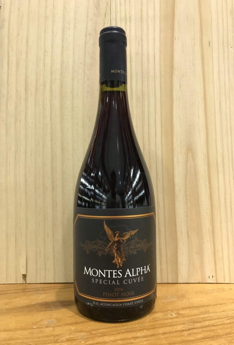 Montes Alpha special cuvee pinot noir