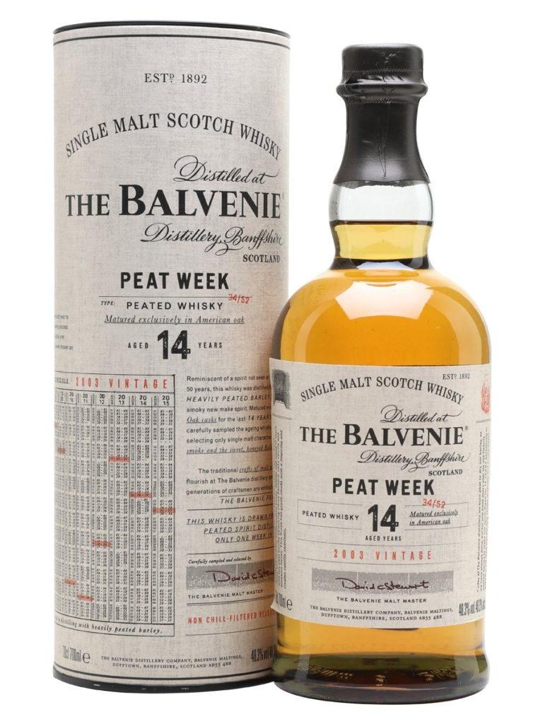 The Balvenie 14 Years Old Peat Week