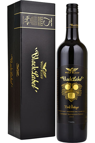 Wolf Blass Black Label Shiraz Cabernet Sauvignon