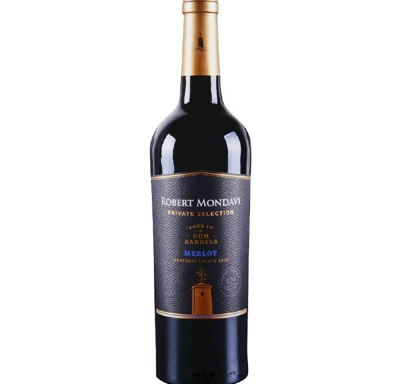 Robert Mondavi Private Selection Merlot Aged in Rum Barrels