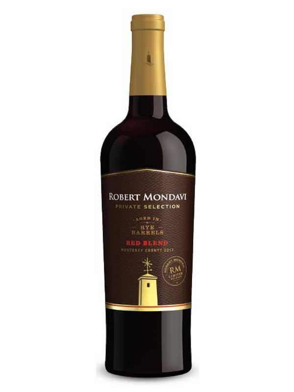 Robert Mondavi Private Selection Red Blend Aged in Rye Barrels