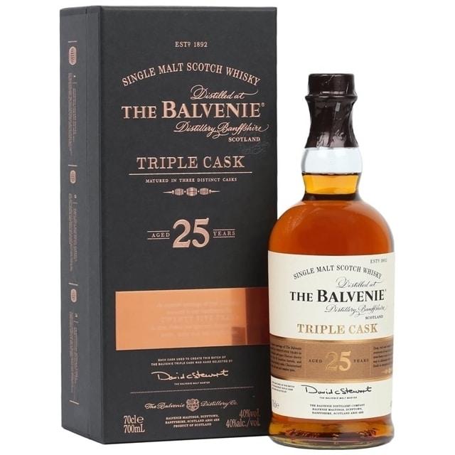 Balvenie 25 Years Old Triple Cask