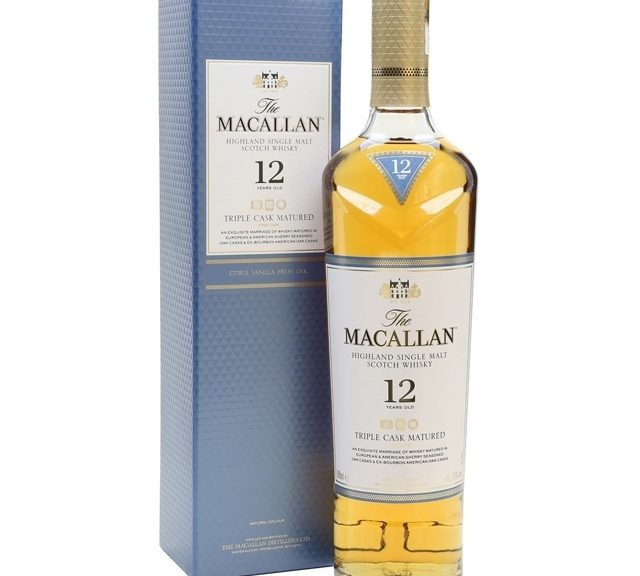 Macallan Triple Cask Matured 12 Years Old