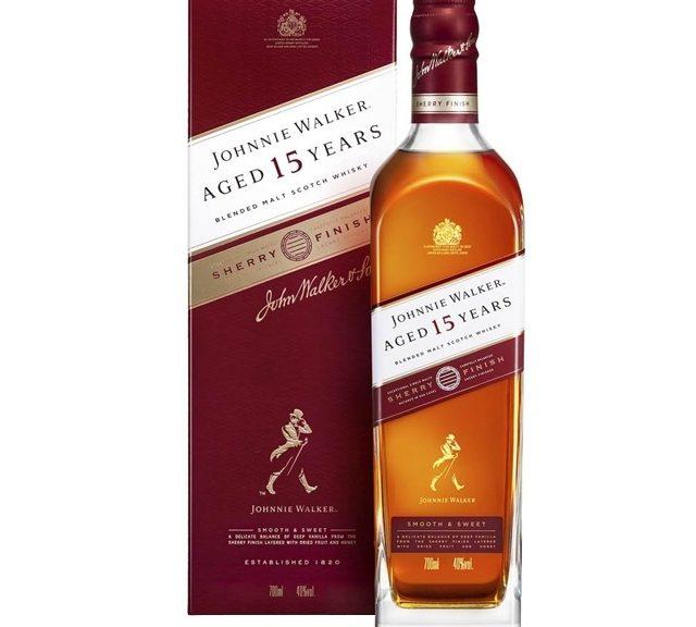 Johnnie Walker 15 Years Sherry Finish