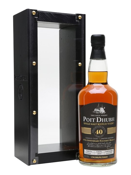 Poit Dhubh Single Cask 40 Years Old