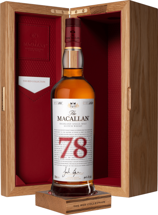 The Macallan Red Collection 78 Years Old