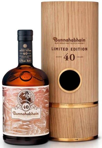 Bunnahabhain Limited Edition 40 Years Old