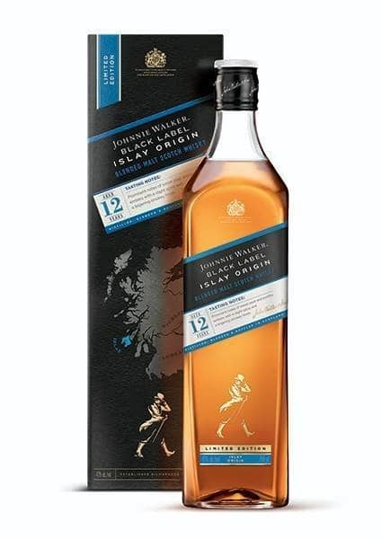 Johnnie Walker Black Label Islay Origin 12 Years Old