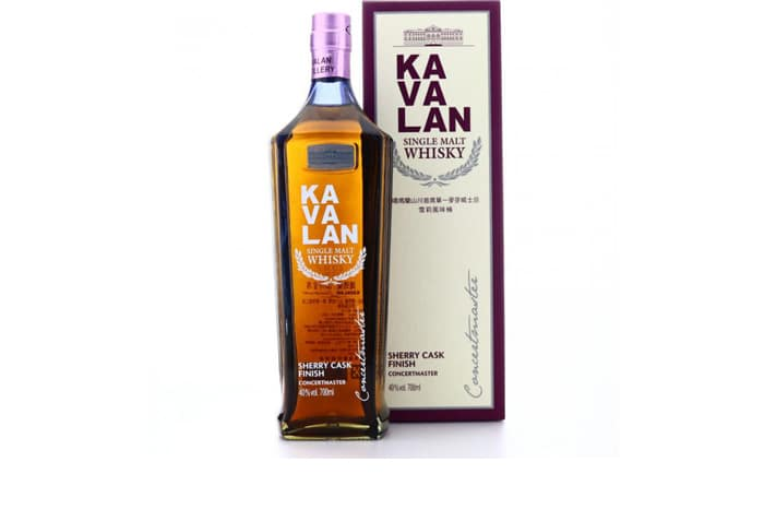 Kavalan Concertmaster Sherry Cask Finish