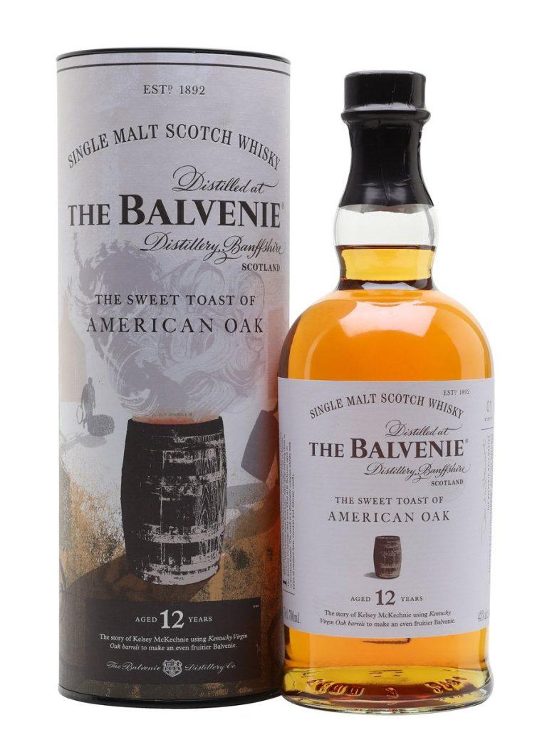 Balvenie 12 Years Old the Sweet Toast of American Oak