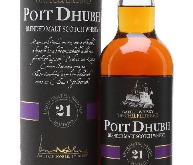 Poit Dhubh 21 Years Old