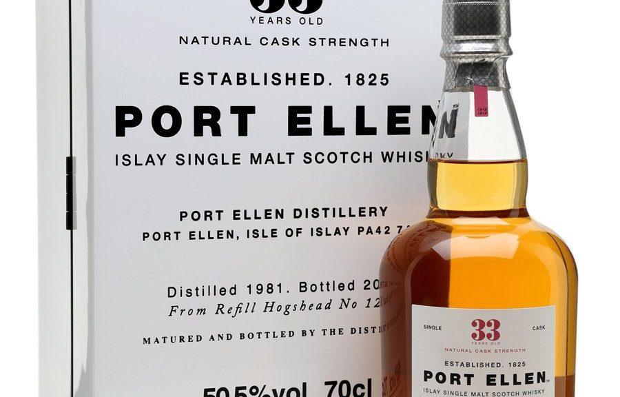 Port Ellen 1981 Aged 33 Years Old Natural Cask Selection