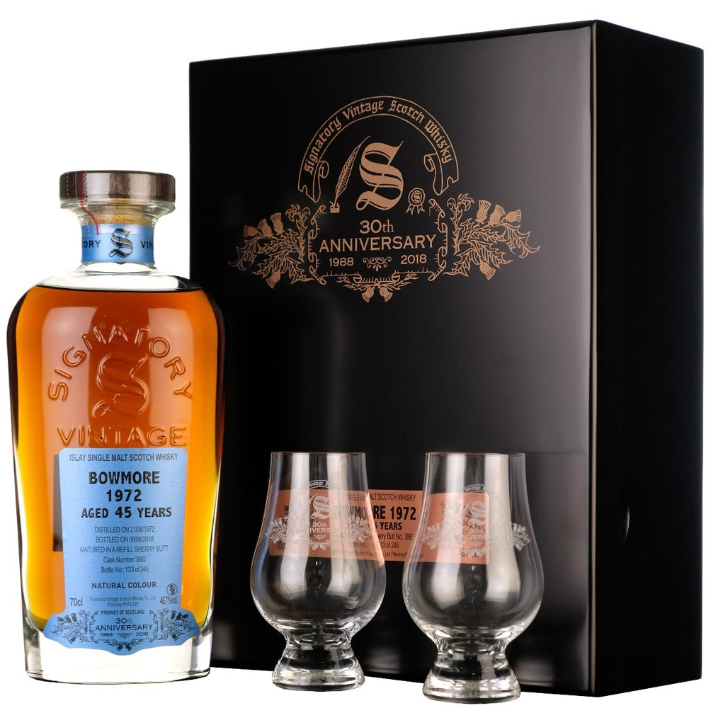 Signatory Vintage 30th Anniversary Bowmore 45 Years Old