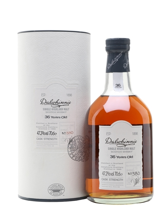 Dalwhinnie Single Highland Malt 36 Years Old