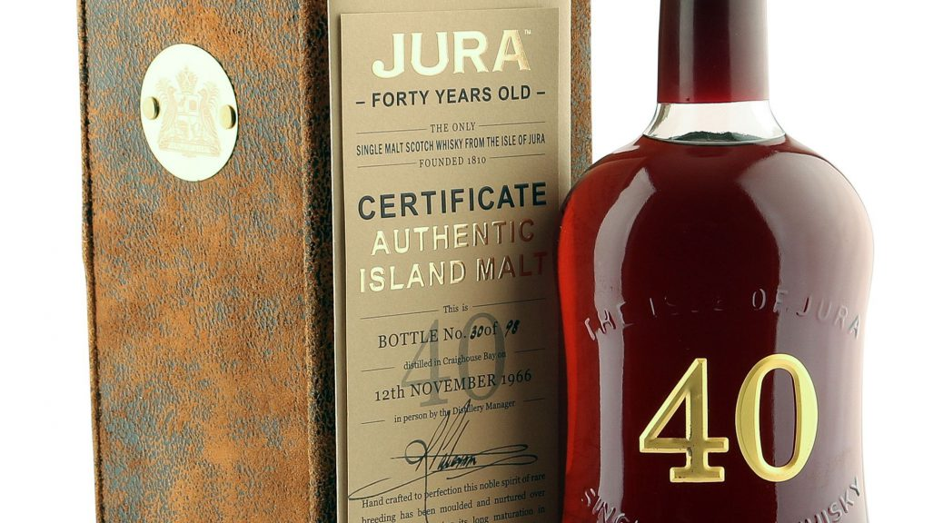 Isle of Jura 40 Years Old
