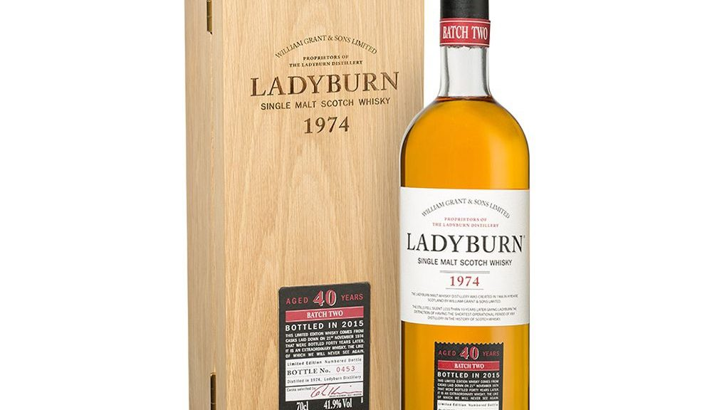 Lady Burn Single Malt Scotch Whisky 1974