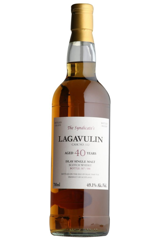 Lagavulin The Syndicate 40 Years Old